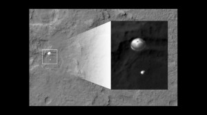 EDL as seen by the Mars Reconnaissance Orbiter (MRO)