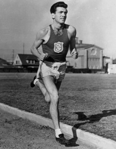 My running hero, Louis Zamperini.