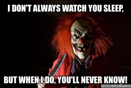 [Image: clownsleep.jpg]